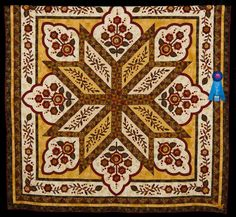 2015 Quilt Expo Quilt Contest, 1st Place, Category 2, Hand Quilted Bed Size - Appliquéd or Other: Hadassah, Audra Rasnake, Meadowview, Va. quiltexpo.com