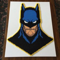 Batman - DC Comics perler beads by lperryperler
