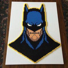 Batman - DC Comics perler beads by lperryperler
