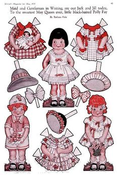 paper dolls:  they're similar to the raggedy Ann & Andy dolls.[MayDay_7.JPG]