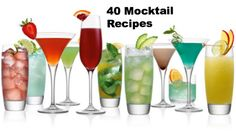 40 EASY Mocktail Recipes for the Summer! http://momgenerations.com/2013/05/bumps-babies-40-mocktail-recipes-for-the-spring-and-summer/