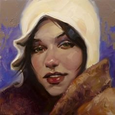 Portrait Paintings by John Larriva