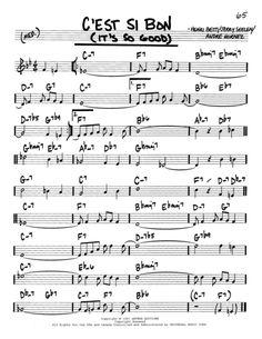 C'est Si Bon (It's So Good) Guitar Sheet Music, Free Sheet Music, Digital Sheet Music, Guitar Songs, Guitar Chords, Music Tabs, Music Notes, Trumpet Sheet Music, Jazz Guitar Lessons