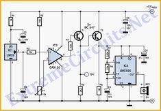 transmissor fm 2n2218 potente lm741 1km electronics stuff rh pinterest com