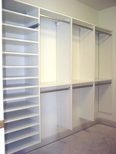 Master bedroom closet design - Storage Closets Photos Master Bedroom Closet… Mais