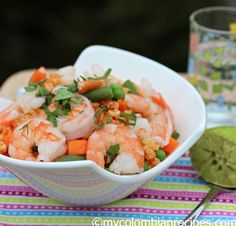 Rice with Shrimp (Arroz con Camarones)