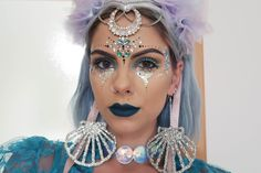 sophie hannah richardson festival glitter makeup
