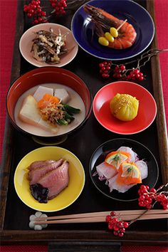 Japanese New Year's dish, Osechi おせち<< It all look's so delicious! ^^