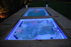A hot tub or a swim spa?  The question could eat at you, so why not have both.