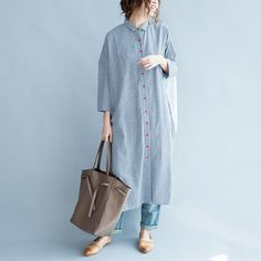 Summer Fashion Outfits, Summer Outfits Women, Modest Fashion, Hijab Fashion, Boho Fashion, Long Shirt Outfits, Outfits Con Camisa, Ethnic Trends, Kurti Neck Designs
