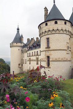 Chateau de Chaumont, Loire Valley, France ~ (photo copyright Pedro M. Beautiful Castles, Beautiful Buildings, Beautiful Places, Places To Travel, Places To See, Places Around The World, Around The Worlds, Haute Marne, Belle France