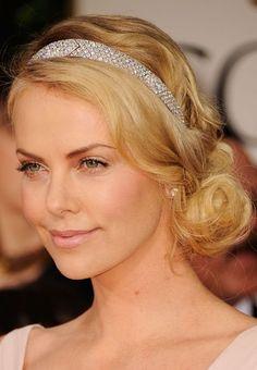 peinados retro - Charlize Theron #hair