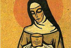 Heilige Klara von Assisi.