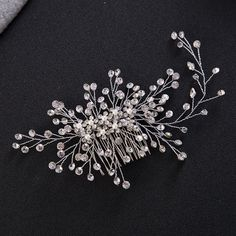 Luxury Crystal Hair Comb //Price: $19.10 & FREE Shipping //     #hashtag4