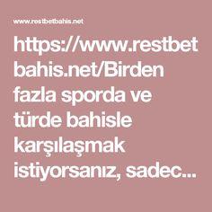 https://www.restbetbahis.net/Birden fazla sporda ve türde bahisle karşılaşmak istiyorsanız, sadece RestBet bahis adresini ziyaret edin.#restbetRestBet Bahis