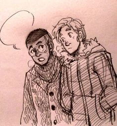 David Alleyne (Prodigy) x Tommy Shepherd (Speed) from Young Avengers ©Marvel