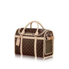 Dog bag 40 via Louis Vuitton