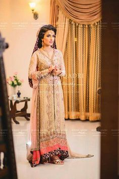 Ayeza Khan and Danish Taimoor got married. The Valima pictures of Ayeza Khan and Danish Taimoor has revealed. Celebrities and Tv Stars attended the Ayeza and Danish Valima. You can all view Ayeza Khan and Danish Taimoor Valima Pictures here. 2016 Wedding Dresses, Bridal Outfits, Bridal Gowns, Dresses 2016, Maxi Dresses, Party Dresses, Dulhan Dress, Walima Dress, Aiza Khan Wedding