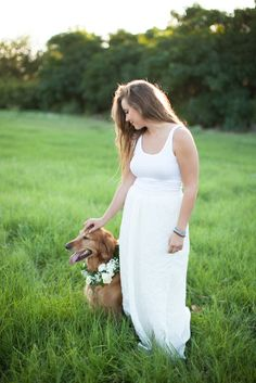 a Girls Best Friend: portraits with your Pup : Love Carmen Rose, dog portraits, senior pics with your dog