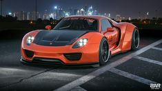 Some Porsche 918 on this widestbody kit :)ALL the credit for the model goes to original author/authors. Model from NFS. Porsche 918, Exotic Cars, Vehicles, Transportation, Model, Behance, Art, Art Background, Kunst