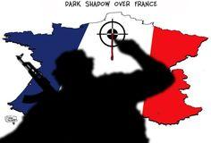 Des dessins pour dénoncer l'horreur - Edition du soir Ouest France - 16/11/2015