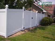 Geaux with the Originals! Country Estate® is the Original Vinyl Fence. Contact us today!