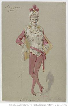 [Don Juan : douze maquettes de costumes de mascarade / par Alfred Grévin] Auteur : Grévin, Alfred (1827-1892). Dessinateur Date d'édition : 1875 Type : image fixe,dessin Langue : Français