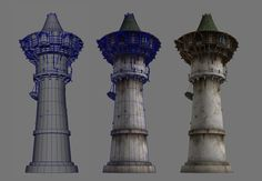 ArtStation - Guild Wars 2 Lion's Arch Buildings, Nate Baerwald
