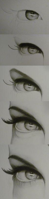 Kresby očí..skúsite?