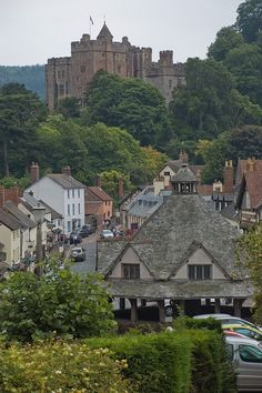 Dunster Village, Somerset - I was married here a year and a half ago! It is truly the perfect village and one of my most favorite places in the whole world. :o)