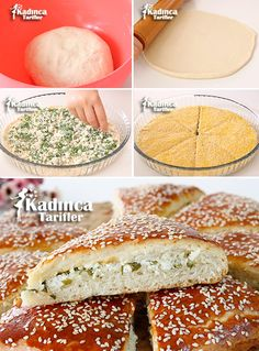 Yeast Tray Pastry Recipe Decoration Craft Gallery Ideas] Related gold-and-white # # Elegant CakesDesert wedding cake inspopretty cake Tea Time Snacks, Christmas Cake Designs, Nutella Bread, Pasta Cake, Easy Starters, Homemade Dinner Rolls, Beste Hotels, Pastry Recipes, Turkish Recipes