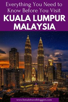 Undoubtedly one of the prettiest cities in South-East Asia and with plenty of things to do in Kuala Lumpur in 2 days, KL is a perfect stopover city! Malaysia Travel, Singapore Travel, Malaysia Itinerary, Bmw M4, Vietnam Travel, Asia Travel, Laos, Sri Lanka, Penang