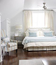 Master Bedrooms should be calming