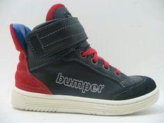 Bumper half high sneaker red marked