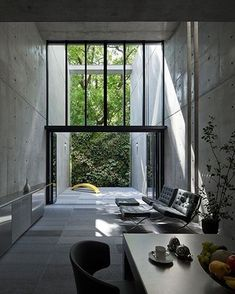 Cool and clean. #architecture #interiors
