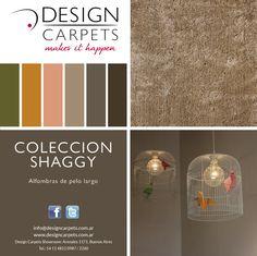 Design Carpets COLECCION SHAGGY  Alfombras de pelo alto , que fabricamos en el color, medida y forma que quieras  www.designcarpets.com.ar