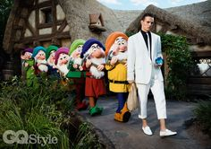 Fashion shoot for GQ Style at the Magic Kingdom | The Disney Blog
