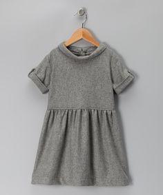 Sewing inspiration  Gray Vanessa Wool-Blend Dress - Infant, Toddler & Girls