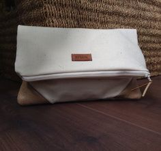 Fold over zipper cluth by orshie on Etsy, You Bag, Zip Around Wallet, Zipper, Bags, Etsy, Style, Handbags, Totes, Lv Bags