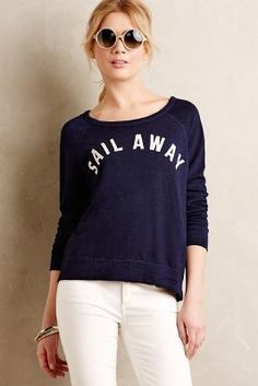 Sundry Sail Away Pullover #anthropologie #anthrofave