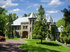 Old World Stone Manor