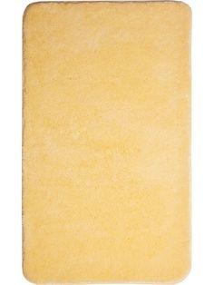 Der schöne und weiche Badteppich Comfort in gelb ist aus Polyacryl ultrasoft. Der Teppich ist waschbar bei 40°C und geeignet für Fußbodenheizung. Die Rückseite ist rutschhemmend beschichtet. Außerdem ist der Badvorleger schnelltrocknend und so auch nach dem Waschen schnell wieder einsatzbereit.