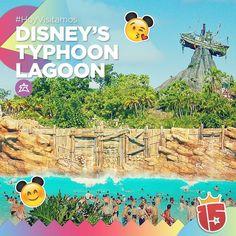 Vamos a disfrutar mucho del agua y de este tremendo verano en Disney's Typhoon Lagoon con el #lilaJ16!   #EstamosEnDisney con #Enjoy15!