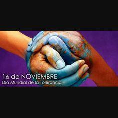 Me acabo de enterar que hoy es el DIA INTERNACIONAL DE LA TOLERANCIA. Casualidad? No lo creo... el universo conspira para darnos una lección de amor.  #amor #paz #empatia #francia #prayforparis #vida #tolerancia