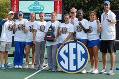 2012 Lady Gator Tennis - 3 straight SEC Tournament Titles!