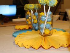 Bruins Cake Pops