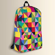 Abstract Squares, Backpack