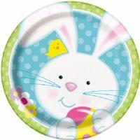 Easter Bunny Dinner Plate