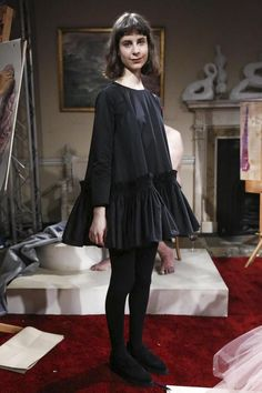 Molly Goddard Ready To Wear Fall Winter 2015 - this is the dress shape dreams are made of.