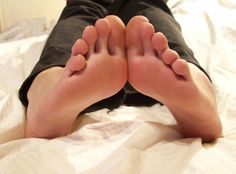 My soles on the bed by KarinaDreamer on deviantART